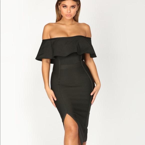 ecc926558c9 Fashion Nova Portrayal Bandage Dress. Listing Price   25.00
